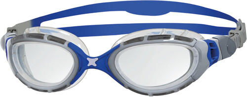 Zoggs Predator Flex - Lunettes de natation - Titanium gris/vert 2018 Lunettes de natation HibkLWma